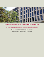 Emerging Issues In Federal Higher Education Law