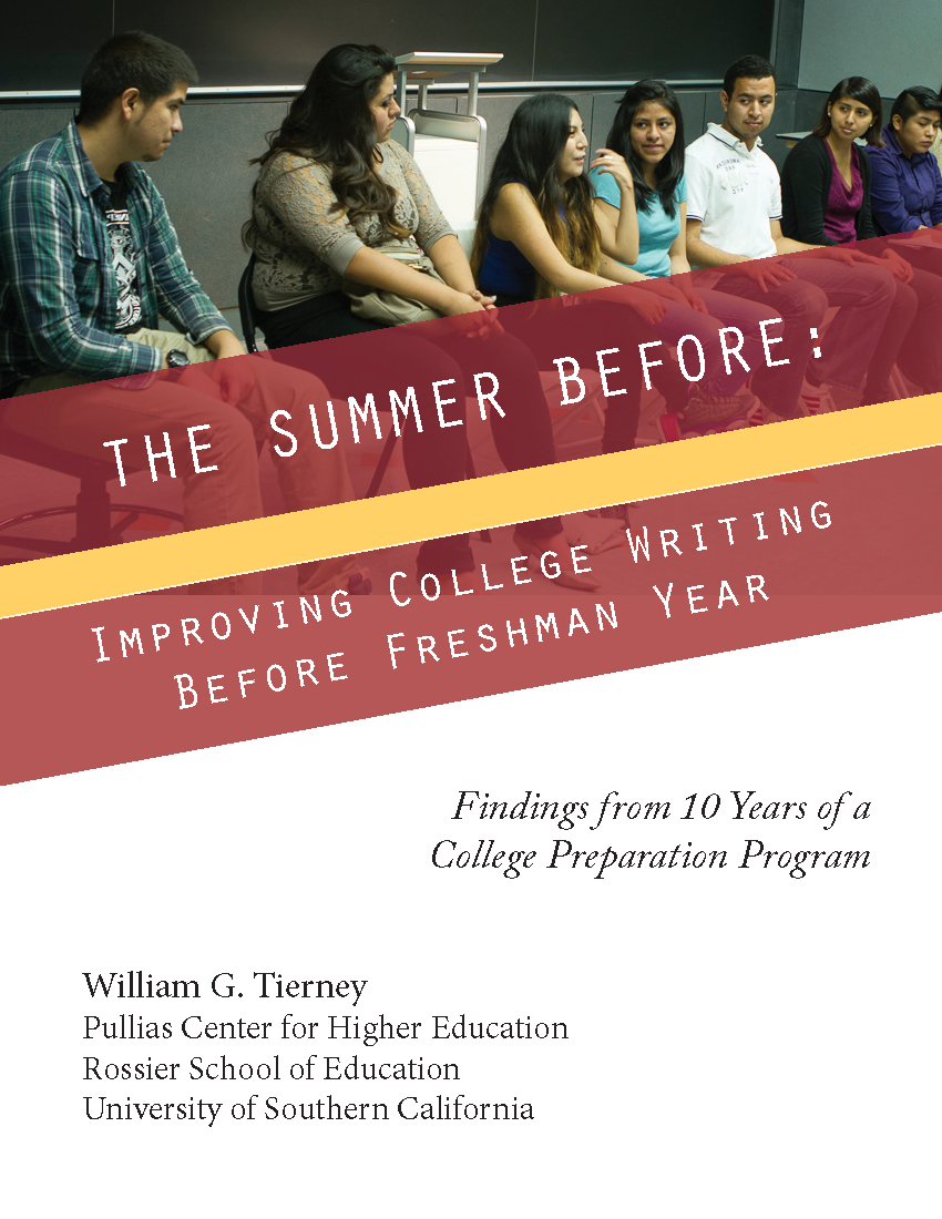 The Summer Before: Improving College Writing Before Freshman Year