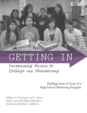 Getting In: Increasing Access to College via Mentoring