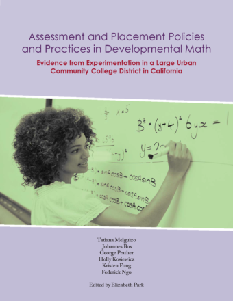 New Report from the USC Community College Project