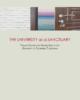 The University as a Sanctuary