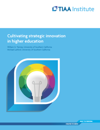Cultivating Strategic Innovation in Higher Education