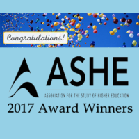 Adrianna Kezar and Julie R. Posselt Win 2017 Association for the Study of Higher Education Awards